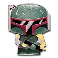 2020 Niue 1 oz Silver Chibi Coin Collection: Boba Fett