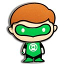 2020 Niue 1 oz Silver Chibi Coin Collection: Green Lantern