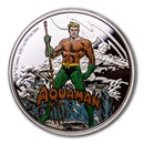 2020 Niue 1 oz Silver Coin $2 Justice League 60th: Aquaman