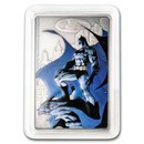 2020 Niue 1 oz Silver Coin $2 - The Caped Crusader - Gotham City