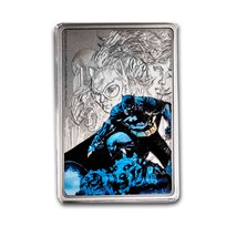 2020 Niue 1 oz Silver Coin $2 - The Caped Crusader