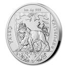 2020 Niue 1 oz Silver Czech Lion BU