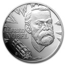 2020 Niue 1 oz Silver Geniuses of the 19th Century: Alfred Nobel