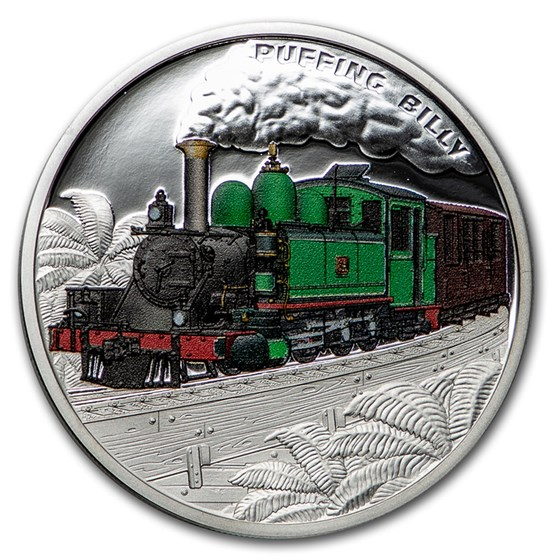 2020 Niue 1 oz Silver Proof 120th Anniversary Puffing Billy