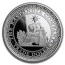 2020 Niue 1 oz Silver Proof French Trade Dollar Restrike