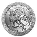 2020 Niue 1 oz Silver Proof Mythical Creatures: Griffin