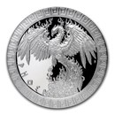 2020 Niue 1 oz Silver Proof Mythical Creatures: Phoenix