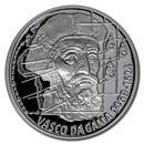 2020 Niue 1 oz Silver Proof On Waves: Vasco da Gama