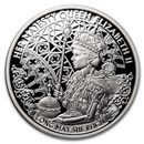 2020 Niue 1 oz Silver Proof Queen Elizabeth II Long May She Reign