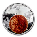 2020 Niue 1 oz Silver Proof Solar System (Mercury)