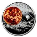 2020 Niue 1 oz Silver Proof Solar System (Venus)
