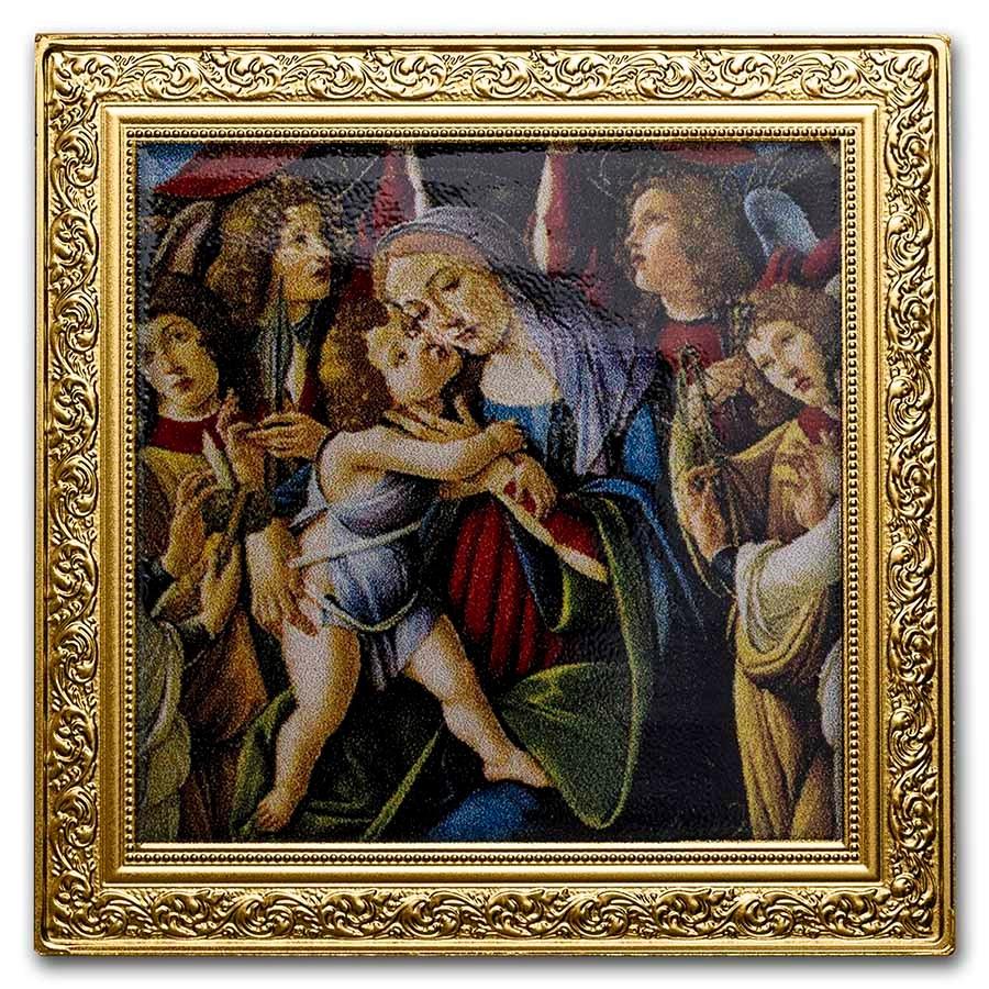 2020 Niue 1 oz Silver Renaissance Masterpiece (Madonna and Child)