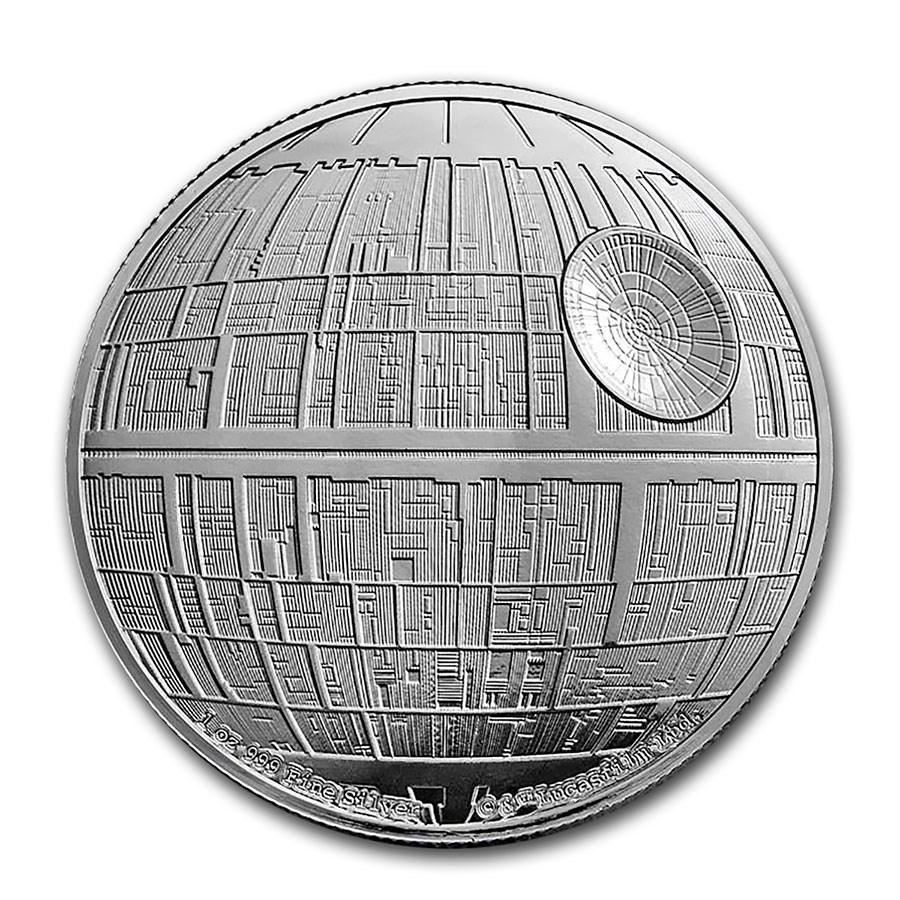 2020 Niue 1 oz Silver Star Wars Death Star (Box & COA)