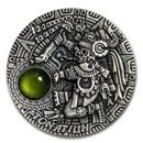 2020 Niue 2 oz Silver Antique Sun Gods; Tonatiuh