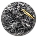 2020 Niue 2 oz Silver Legendary Emperors of China: Qin Shi Huang
