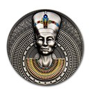 2020 Niue 3 oz Antique Silver Nefertiti
