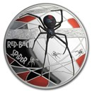 2020 Niue 5 oz Silver 150th Anniversary Red-Back Spider Proof