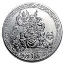 2020 Niue 5 oz Silver Universal Gods: Odin