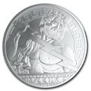 2020 Niue 5 oz Silver Universal Gods: Zeus