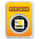 2020 Niue Colorized 1 oz Silver $2 PAC-MAN™ 40th Anniversary Coin