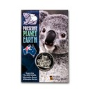 2020 Niue Cupro-Nickel NSW Wildlife Koala Fire Rescue