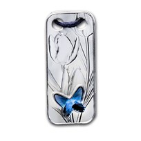 2020 Niue Silver Butterfly Coin Pendant
