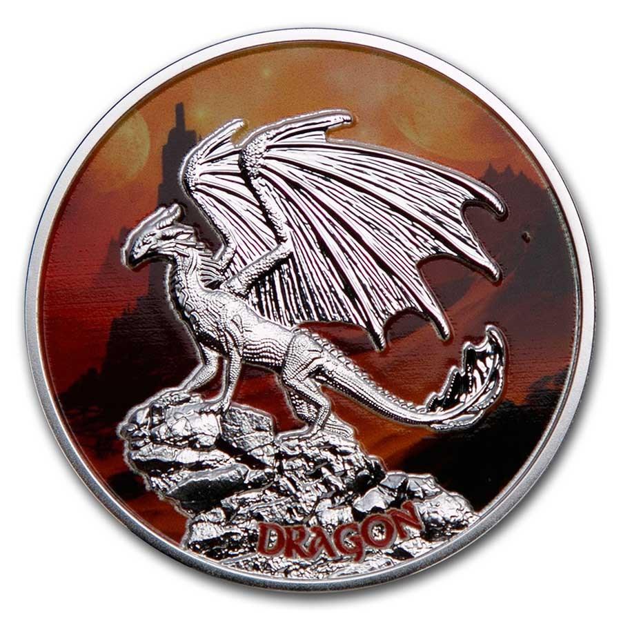 2020 Niue Silver Dragon Proof