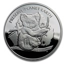 2020 Niue Silver Proof NSW Wildlife Koala Fire Rescue
