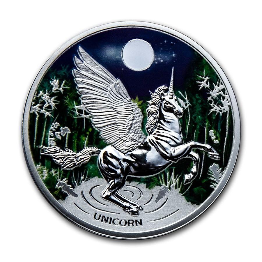 2020 Niue Silver Proof Unicorn