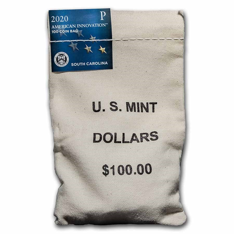 2020-P American Innovation $1 Septima Clark ($100 Bag) (SC)