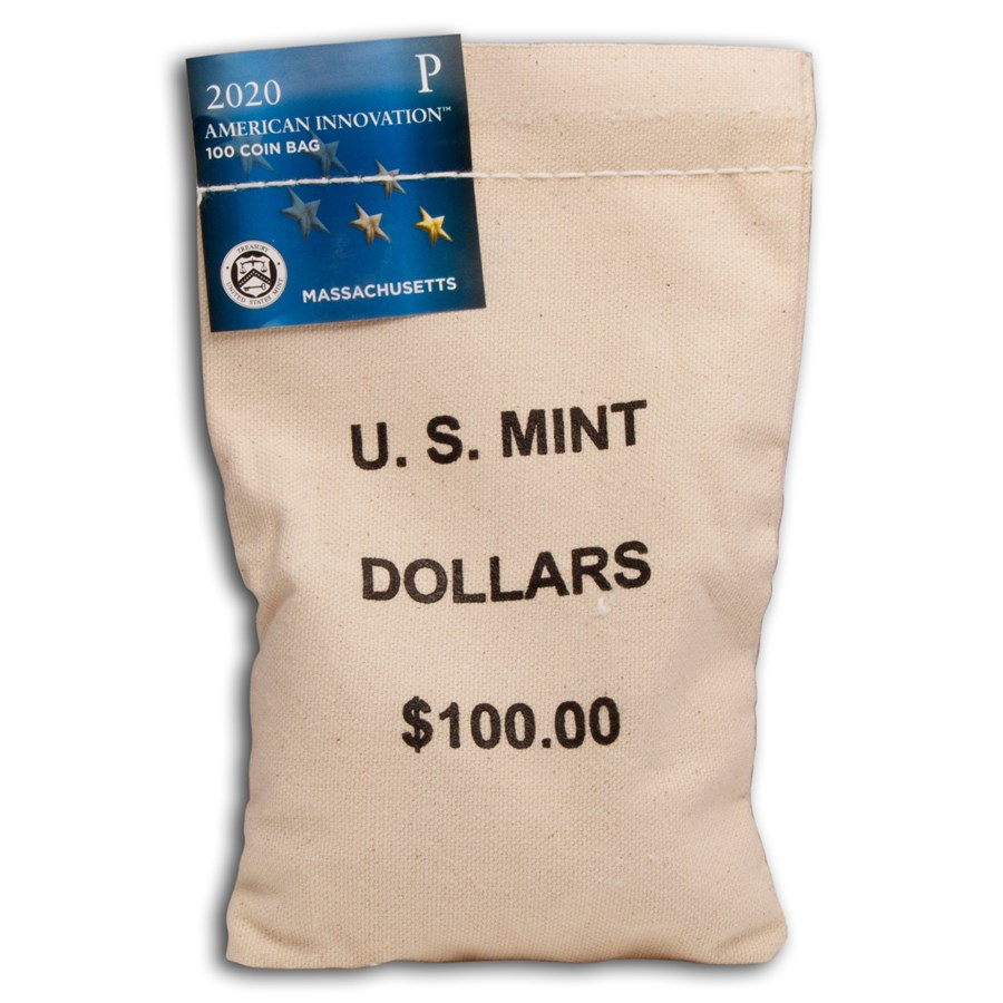 2020-P American Innovation $1 Variable Scale (100-Coin Bag) (CT)