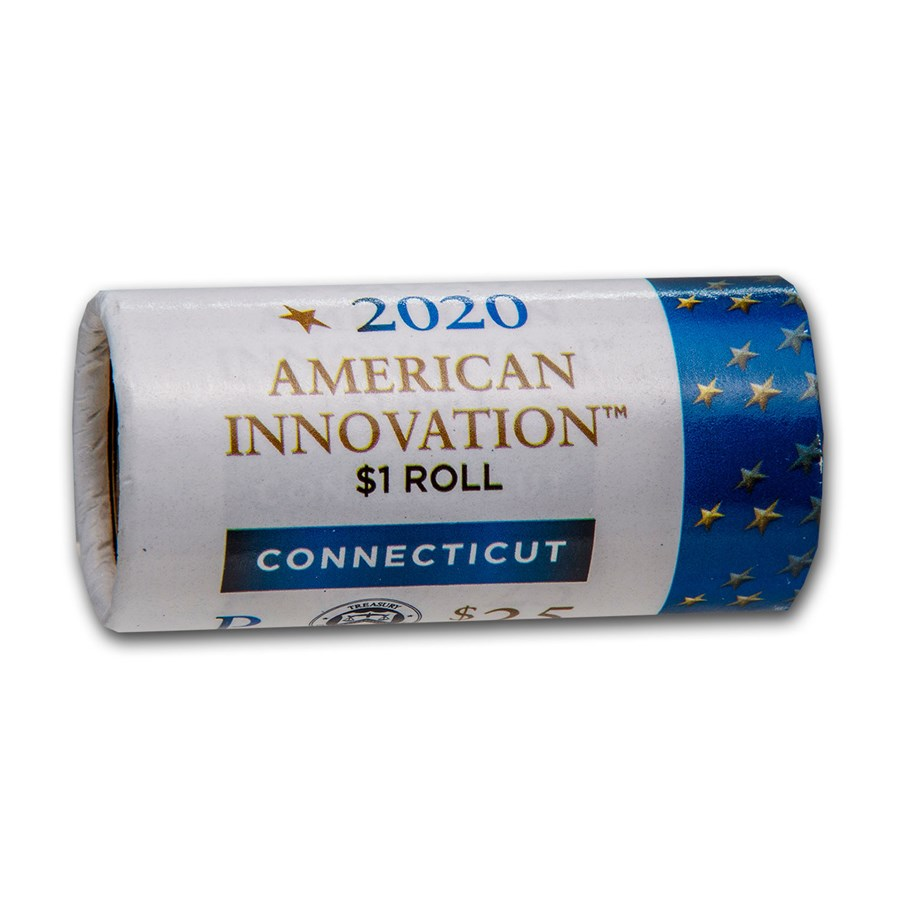 2020-P American Innovation $1 Variable Scale (25-Coin Roll) (CT)