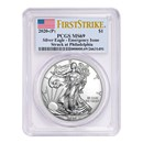 2020-(P) American Silver Eagle MS-69 PCGS (FirstStrike®)