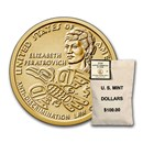 2020-P Native Amer $1 - Peratrovic ($100 Coin Mint Sealed Bag) BU