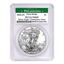2020-(P) Silver American Eagle MS-69 PCGS (FS, Philadelphia)
