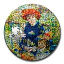 2020 Palau 3 oz Proof Silver Micropuzzle Treasures: Two Sisters