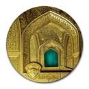 2020 Palau 5 oz Gold Tiffany Art Isfahan