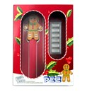 2020 PEZ® Gift Set w/Gingerbread Dispenser & 6x 5g Silver Wafers