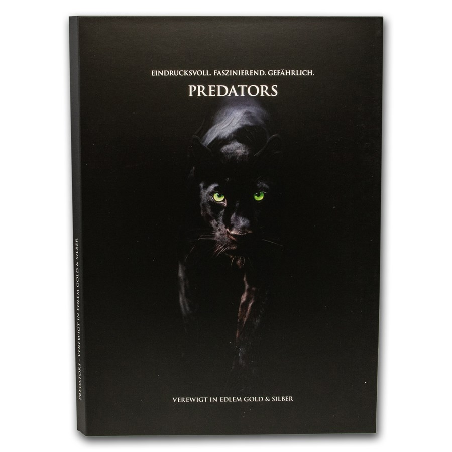 2020 Predators Coin Album (Empty)