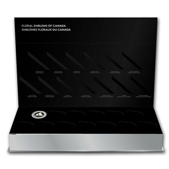 2020 RCM 1/4 oz Ag $3 Ontario: White Trillium (sub-box)