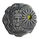 2020 Rep. of Cameroon Antique Silver Alexander The Great