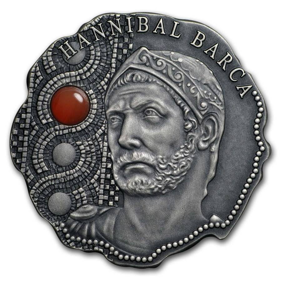 2020 Rep. of Cameroon Antique Silver Hannibal Barca