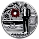2020 Republic of Cameroon 1 oz Silver My Name is Ian Fleming