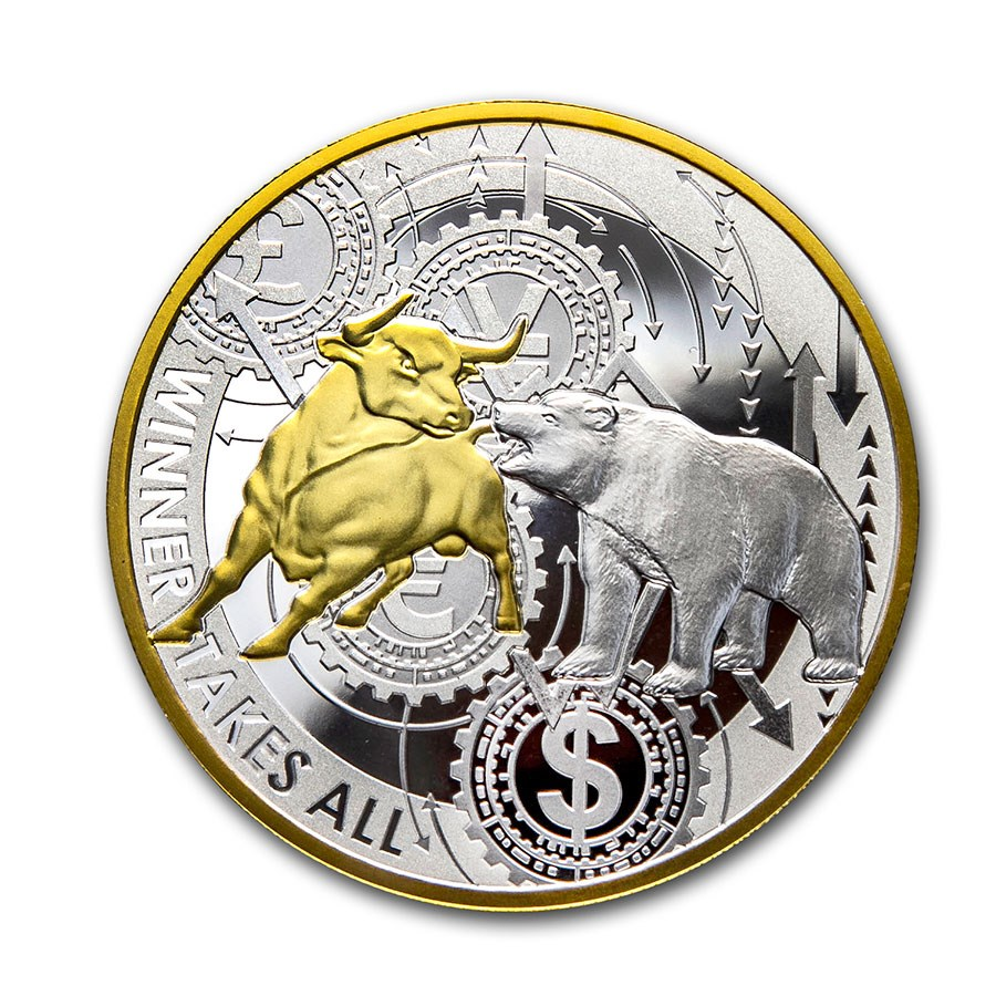 2020 Republic of Cameroon 1 oz Silver Winner Takes All