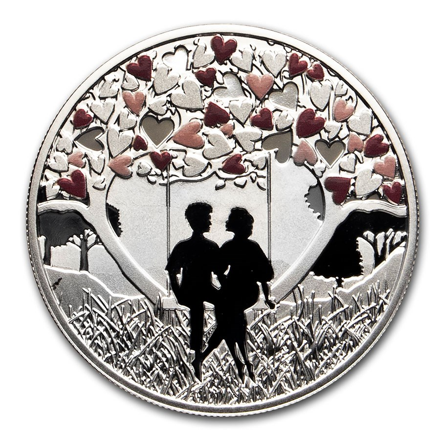 2020 Republic of Cameroon Silver Feel The Love