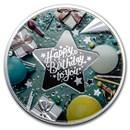 2020 Republic of Cameroon Silver Happy Birthday