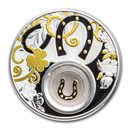 2020 Republic of Cameroon Silver Proof Lucky Horseshoe Coin