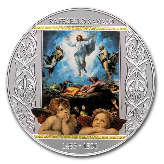 2020 Republic of Cameroon Silver Transfiguration of Jesus