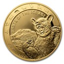 2020 Republic of Ghana 1 oz Gold Cave Bear Proof