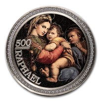 2020 Republic of Ghana Silver 500th Anniversary Raphael